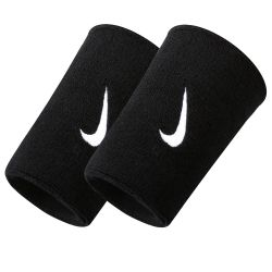 Напульсники Nike Swoosh Double Wide Wristband Black NNN05010OS