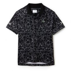 Теннисная футболка Lacoste Print Technical Jersey Polo dh9456-51