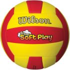Мяч волейбольный Wilson Super Soft Play Red/Yellow