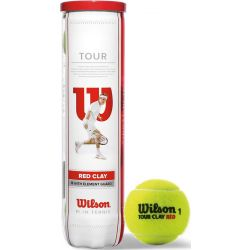 Теннисные мячи Wilson Tour Clay Red 4ball